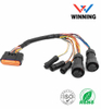 Waterproof Cable M25+M12 Terminal cable