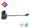 OBDII 16P J1962 Male to Molex 3.0 1*2P Female, GPS tracking flat cable