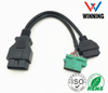 OBDII 16P J1962 Male to J1962 Female + Chevelet Female Y cable Vehical Inspection Cable