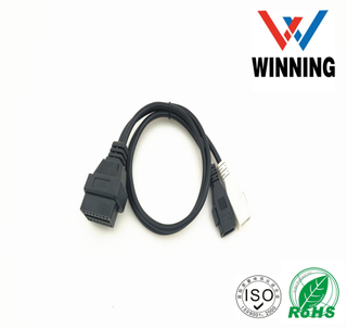 2P TO 16pin OBD Vehical Inspection Cable 2*2 for audi Length: 50CM