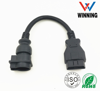 OBDII 16P J1962 Female to CPC 28P Female connector Cable