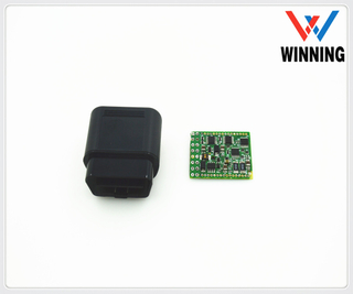 OBDII 16P TO M Assembly shell PCB