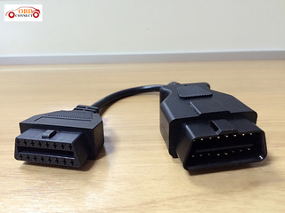 OBD II 16p FEMALE TO J1962 16P MALE-2