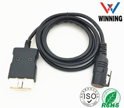 OBDII 16P J1962 Male to CPC 16P Male connector CABLE